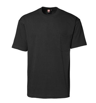 ID T-shirt m/brystlomme
