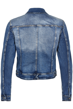 In Front Denim Jakke Samoa
