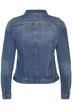 In Front Denim Jakke Isabelle