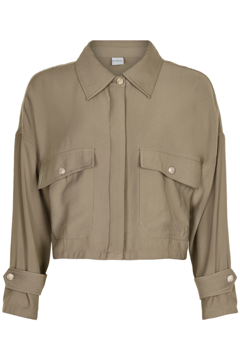In Front Deco Casual Jacket