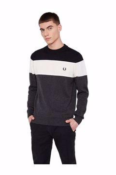 Fred Perry Strik Panelled Jumper