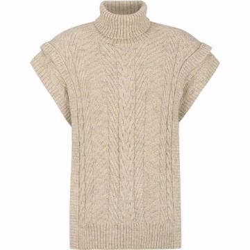 Soft Rebels Knit Vest Sandy