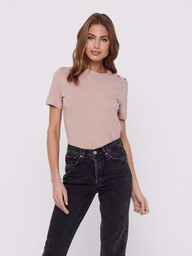 JDY London Life Button Top