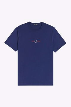 Fred Perry T-shirt Embroidered