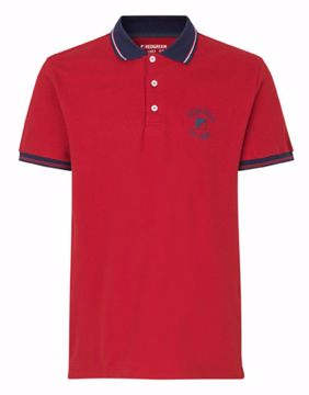 Red Green Polo Clemens